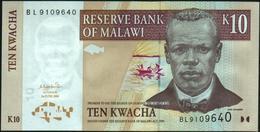 ♛ MALAWI - 10 Kwacha 01.06.2004 UNC P.51 - Malawi