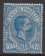 Italia Italy 1884 Regno Pacchi Postali C20 Sa N.PP2 Nuovo MH * - Ongebruikt