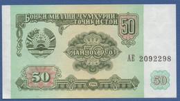 TAJIKISTAN - P.5 – 50 Ruble 1994 UNC - Tajikistan