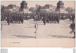 "Carte   ""  STEREOSCOPIQUE  ""    Réf-JP-W-189  ( Militaria )        L'Avant Garde - Guerra 1914-18"