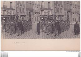 "Carte   ""  STEREOSCOPIQUE  ""    Réf-JP-W-191  ( Militaria )        La Garde Descendante - Maniobras"