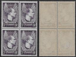 Francia France1937 Mermoz 3Fr Block YT N.338 MNH ** - Nuevos