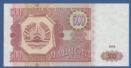 TAJIKISTAN - P.8 – 500 Ruble 1994 UNC - Tajikistan