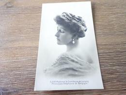 S.A.R Madame La Comtesse De Lonyay Princesse Stephanie De Belgique - Königshäuser