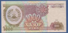 TAJIKISTAN - P.9 – 1.000 Rubles 1994 UNC Prefix AO - Tajikistan