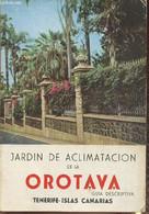 Jardin De Aclimatacion De La Orotava- Guia Descriptiva Tenerife-Islas Canarias - Dr Garcia Cabezon Andres - 1961 - Cultural
