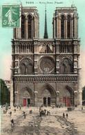 PARIS - Notre Dame - Façade - Notre Dame De Paris