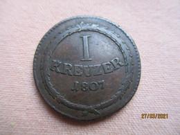 Bade: 1 Kreuzer 1807 - Piccole Monete & Altre Suddivisioni