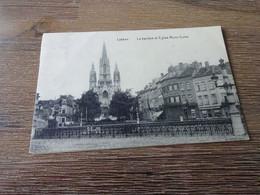 Laeken La Barrière Et église Notre Dame - Laeken