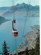 Suisse - LU Lucerne - Luftseilbahn Weggis-Rigi Kaltbad - Blick Auf Weggis, Vierwaldstattersee Und Pilatus - Téléphérique - LU Lucerne