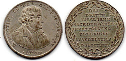 Allemagne - Médaille 1817 Martin Luther - TTB+ - Sonstige