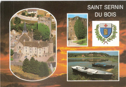 CPSM DE SAINT SERNIN DU BOIS - Other Municipalities