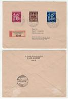 Allemagne // IIIe Reich // Lettre  Recommandée Pour Ettlingen - Covers & Documents