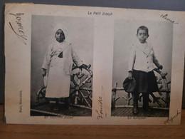 """""""Le Petit Joseph"""" Costuem INdien Costume Eurpeen -  état Parfait - 1908 Envoyé De Roulers à Hoogstraeten - Unclassified"""