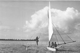 Polynésie Française TAHITI Vahiné Voilier Pirogue  (Photo A.SYLVAIN Tahiti) @ PRIX FIXE - Polynésie Française