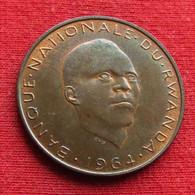 Rwanda 5 Franc 1964 Ruanda #2 - Rwanda