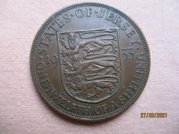 Jersey: 1/12 Shilling 1933 - Jersey