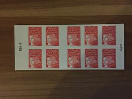Carnet France 3085-C6b LUQUET Couverture Luminescente - Neuf Cote 50€ Rare - Definitives