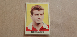 1966 INGHILTERRA England BAKER Figurine FIGURINA NANNINA..CALCIO ..MUNDIAL, WORLD CUP, FIFA Soccer FOOTBALL - Trading Cards