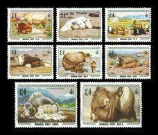 Mongolia 1998 Mih. 2766/73 Fauna. Yaks MNH ** - Mongolia