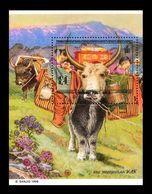 Mongolia 1998 Mih. 2774 (Bl.281) Fauna. Yaks MNH ** - Mongolia