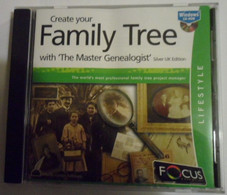 """Create Your Family Tree With """"the Master Genealogist"""" - CD"""