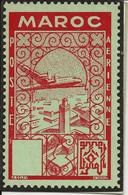 Maroc Carnet De Circulation Cotter Philatélie Casablanca. Odontomêtre Au Verso - Sin Clasificación