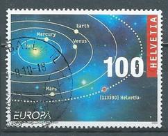Suisse YT N°2036 Europa 2009 L'astronomie Oblitéré ° - 2009