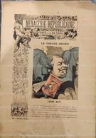 188? MÉNAGERIE RÉPUBLICAINE - LÉON SAY - LA CHAUVE SOURIS - Leo TAXIL - BARENTIN - 1850 - 1899