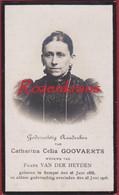 Catharina Goovaerts Van Der Heyden Zemst Sempst 1916 Bidprentje Doodsprentje Image Mortuaire - Devotion Images