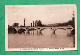 86 Vienne Lussac Les Chateaux Le Pont De Chemin De Fer - Structures