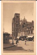 Cpa DIJON - La Place Bossuet Et Les Tours De L'église Saint-Jean . - Dijon