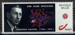 Belgie Belgien Belgium 2021 - Frederick Banting - 100 Jaar Insuline - Nobelprijs - OBP 4183a - Private Stamps