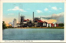 Louisiana Lake Charles One Of The Large Industries 1951 Curteich - Other