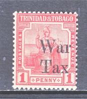 TRINIDAD & TOBAGO  MR 13  **    WAR  TAX - Trinidad En Tobago (...-1961)