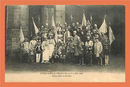 A210 / 629 59 - Carte PHOTO !! College De MARCQ - 14 Mai 1906 - Unclassified