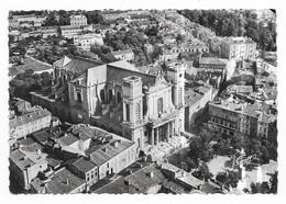 Montauban Vue Aérienne La Place Des Etats Unis Et La Cathédrale S.E.V.A. Editions Greff, Paris (XI°) - Montauban