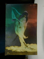Ida Fuller Vaudeville Actress Divided Back Postcard Calcium Light Posted 1907 EX - Künstler