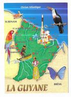 Guyane Carte La Guyane Amérique Du Sud Photo Philippe Poux - Sin Clasificación
