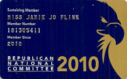 Republican National Committee 2010 Membership Card - Other