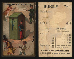 "Chromo - Chocolat Dubois (Fabricant De Chocolat, Tournai) : Alphabet ""F"" - Other"