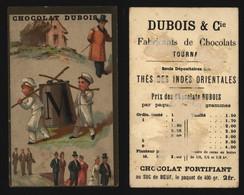 "Chromo - Chocolat Dubois (Fabricant De Chocolat, Tournai) : Alphabet ""M"" - Other"