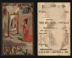 "Chromo - Chocolat Dubois (Fabricant De Chocolat, Tournai) : Alphabet ""G"" - Other"