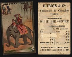 "Chromo - Chocolat Dubois (Fabricant De Chocolat, Tournai) : Alphabet ""E"" (éléphant) - Other"