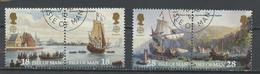 Man 1992 Y&T N°537 à 540 - Michel N°503 à 506 (o) - EUROPA - Se Tenant - Isle Of Man