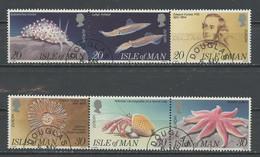 Man 1994 Y&T N°623 à 628 - Michel N°587 à 592 (o) - EUROPA - Se Tenant - Isle Of Man