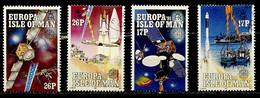Man 1991 Y&T N°498 à 501 - Michel N°464 à 467 (o) - EUROPA - Isle Of Man