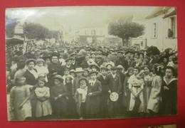 28 Epernon Carte-photo  1911-1912 TB Animée Sans éditeur Dos Scanné N°2 Mint Pas De Reflet Sur Original - Epernon