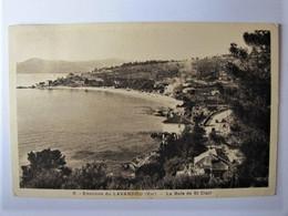 FRANCE - VAR - LE LAVANDOU - La Baie De Saint-Clair - 1938 - Le Lavandou