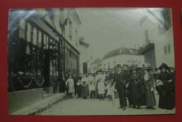 28 Epernon Carte-photo Fête & Notables 1911- 1912 TB Animée Sans éditeur Dos Scanné N°7 Pas De Reflet Sur Original - Epernon